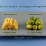 Picture this: Carbohydrate Density. Choose Paleo over Grains.