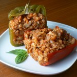 Paleo Sausage Stuffed Peppers