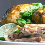 Chili Cilantro Lime Crock Pot Chicken