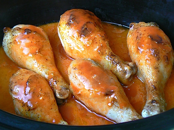 The classic Buffalo wings before cooking...