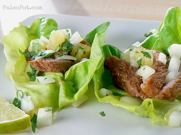 Slow Cooker Tacos Al Pastor (pineapple chile pork) : PaleoPot – Easy ...