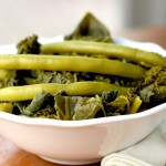 Curried Kale & Green Beans