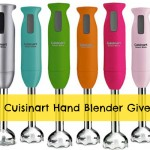 Giveaway: Cuisinart SmartStick Immersion Hand Blender (Pick a Color)