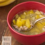 White Acorn Squash Soup (Slow Cooker & One-Pot)