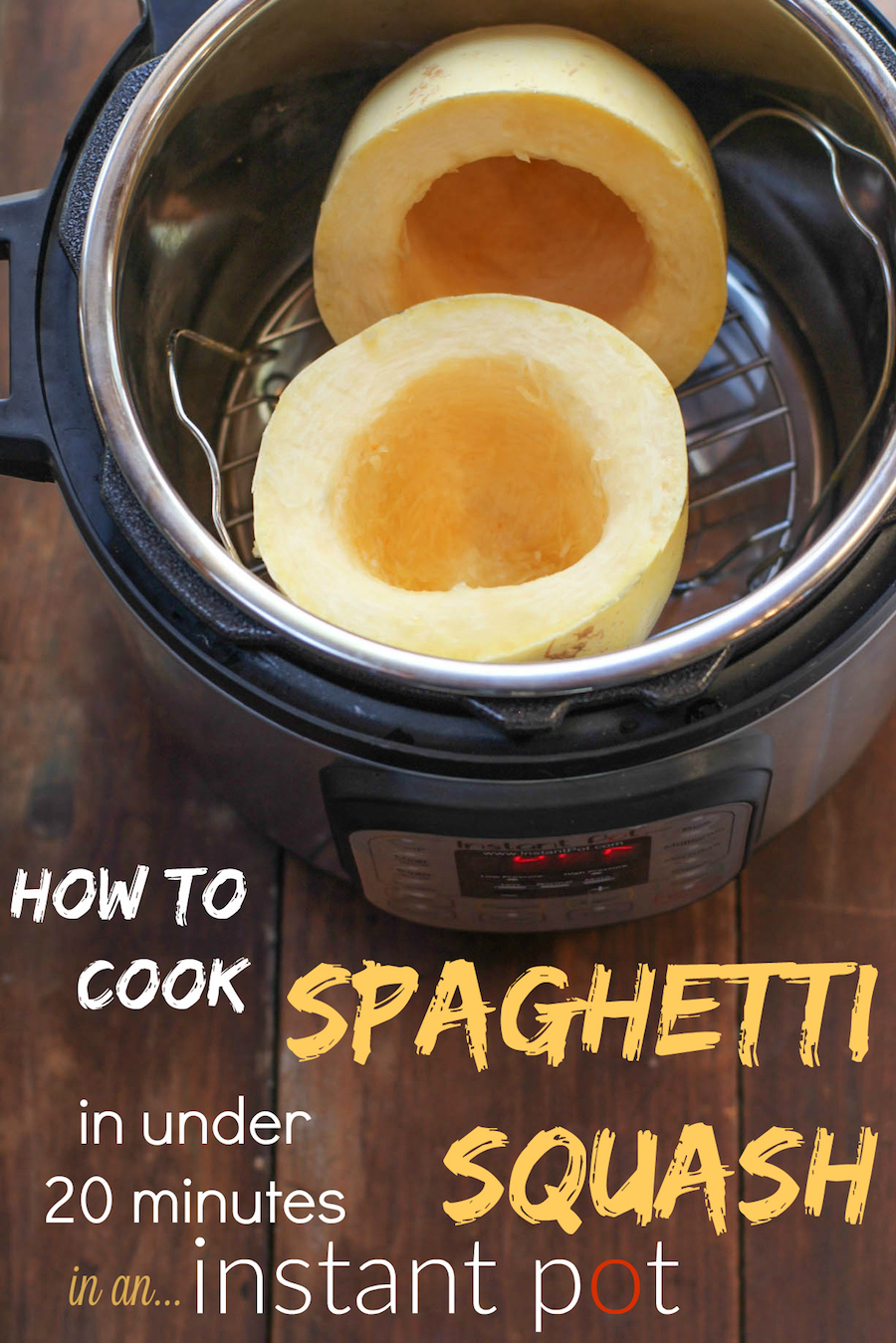 How to cook spaghetti squash in your Instant Pot
