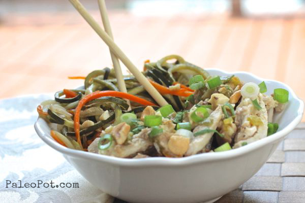 paleo crockpot chicken pad thai recipe
