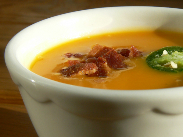 paleo slow cooker butternut squash soup recipe