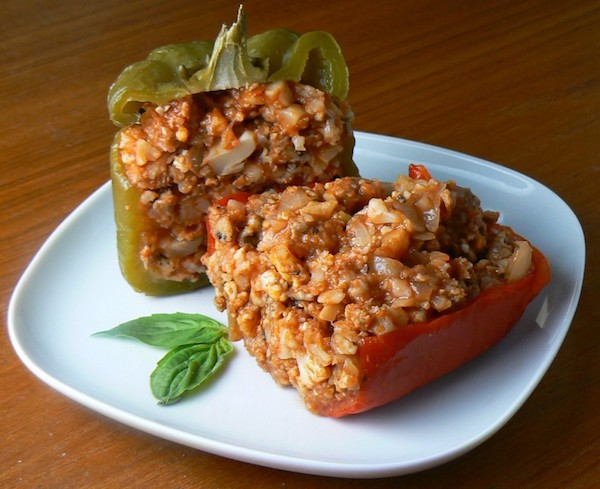 paleo crockpot stuffed peppers recipe
